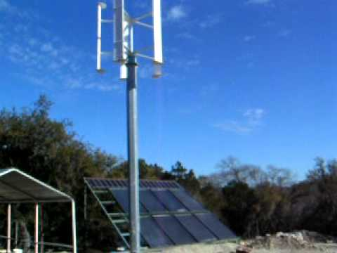 VAWT - Thermal and PV.MOV