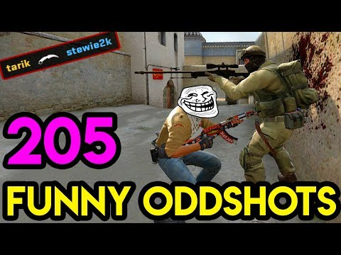 CS:GO - BEST ODDSHOTS #205 (+GIVEAWAY)