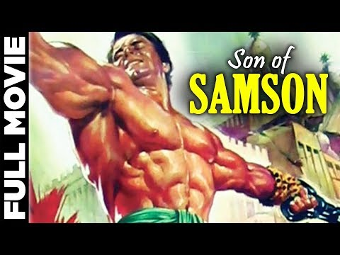 Son Of Samson (1960)   Italian Action Movie   Mark Forest, Chelo Alonso