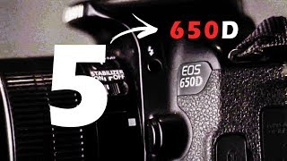 5 Reasons the Canon 650D Is the best Camera for the price (2018) | 4k