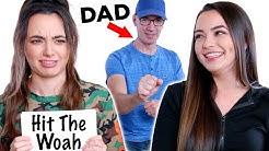 We Teach Our Dad INTERNET SLANG - Merrell Twins