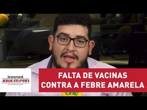 Brasil sente a falta de vacinas contra a febre amarela | Jornal Jovem Pan