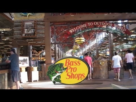Bass Pro Shops - Preços - Video 28 - Orlando - Out 2013