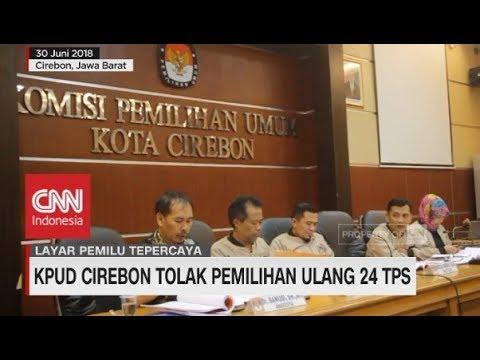 KPUD Cirebon Tolak Pemilihan Ulang 24 TPS