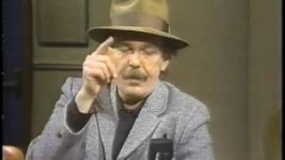 Captain Beefheart on Late Night, November 11, 1982
