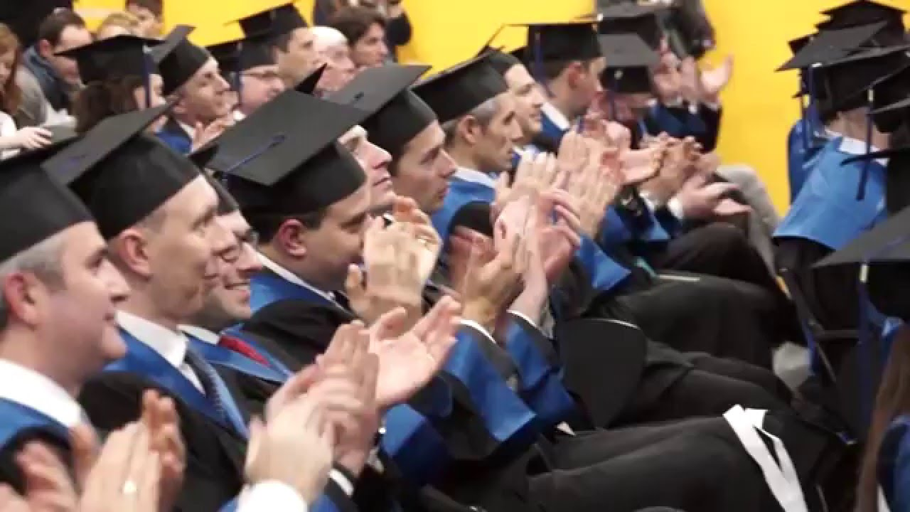 Executive MBA Graduation Day 2015 - YouTube