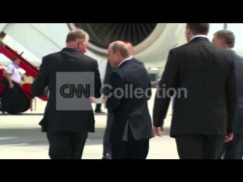 AUSTRALIA: G20 RUSSIAN PRESIDENT PUTIN DEPARTS