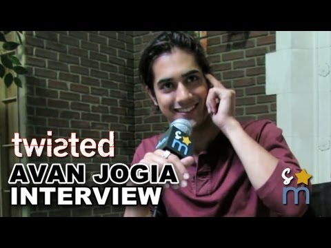 "Avan Jogia Talks ""Twisted"" & Moving On From ""Victorious"" - On Set Interview"