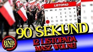 12 LISTOPADA DNIEM WOLNYM OD PRACY! POLSKA STRACI NA TYM MILIARDY | 90 SEKUND