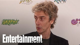 Doctor Who: Peter Capaldi Shares Advice He Gave Jodie Whittaker | SDCC 2017 | Entertainment Weekly