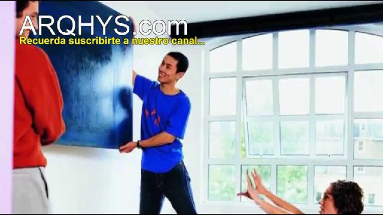 Cómo colgar un cuadro en la pared? Aprende a colgar un cuadro ...