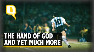 Remembering Diego Maradona, a God t๐ Many, a Fallen Angel to the Rest | The Quint