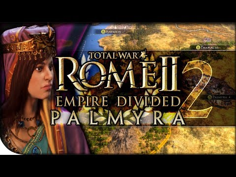 Zenobia Jumps Egypt's Legions | Total War Rome II — Empire Divided: Palmyra 2 | DLC Campaign Normal