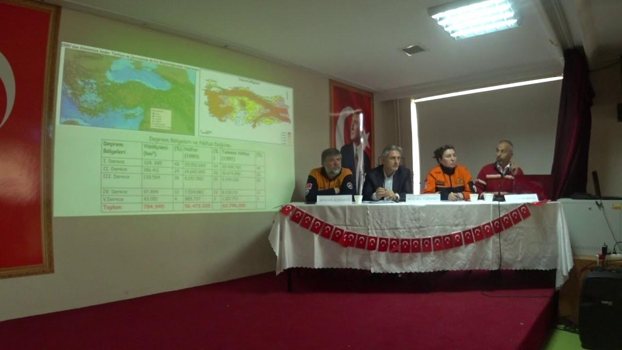 dr. Savaş Karabulut. İstanbul Deprem Paneli Konuşması 18.03.2018