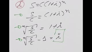 Interés Compuesto despeje fórmulas