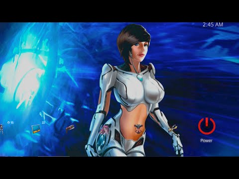PS4 Dynamic Themes - Sexy Fem Sci Android Bot