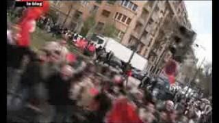 La flamme olympique à Paris: circulez y