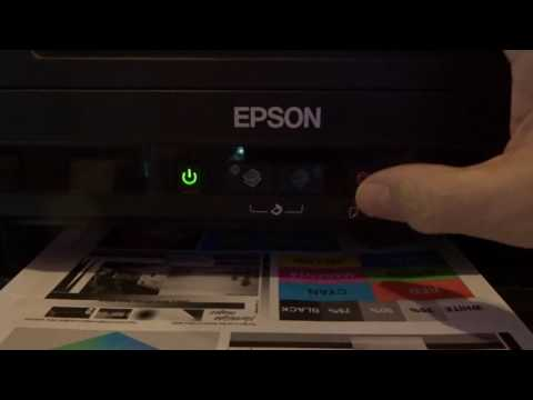 How To Reset Ink Levels Epson L110