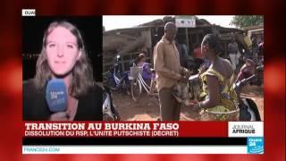 Burkina Faso : dissolution du RSP