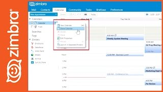 How to Share Calendar in Zimbra thumbnail