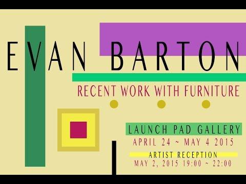 "Evan Barton ""Recent Work With Furniture"" Interview"