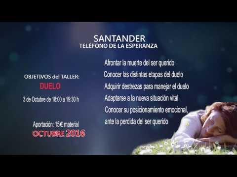 Nuevos talleres Telefono de la Esperanza Santander (Oct. 16)
