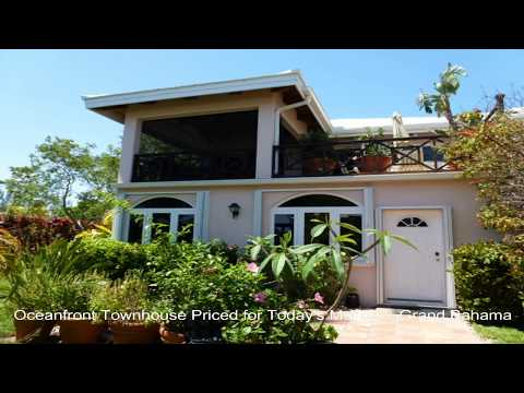 Bahamas Property - Oceanfront Townhouse Priced for Today's Market