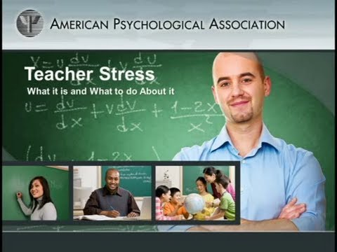 Recognition, prevention and coping strategies for teacher stress