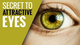 Psychology of Attractive Eyes and How to Achieve it in Photoshop