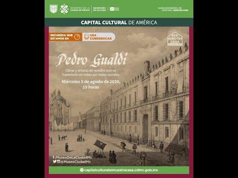 Obras y artistas del acervo del Museo de la Ciudad de México: Pedro Gualdi