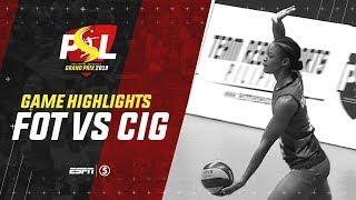 Highlights: Foton vs. Cignal HD | PSL Grand Prix 2019