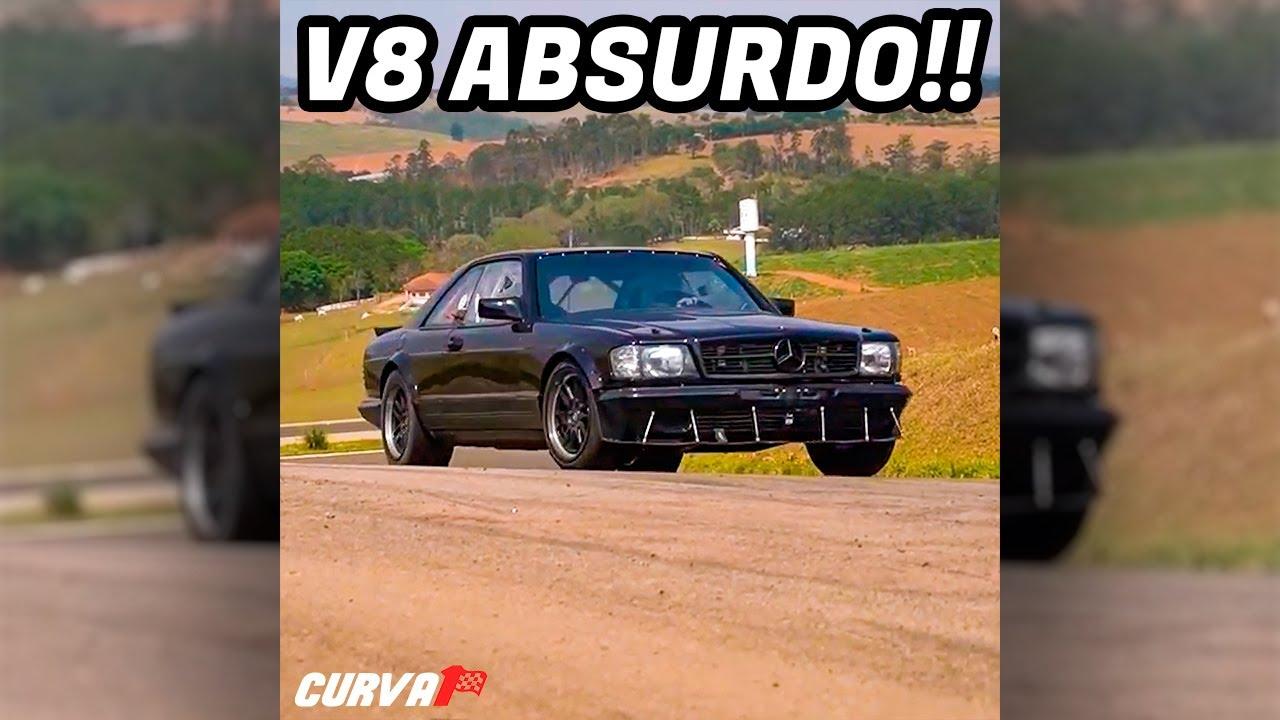 Mercedes V8 5.0 DE CORRIDA! #shorts
