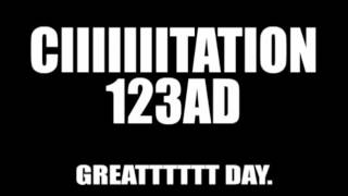 CIIIIITATION -N123AD - GREAT DAY!!