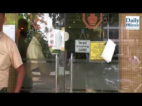 Gunman robs private bank in Seeduwa