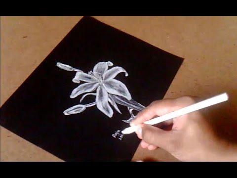 Drawing on black paper youtube drawing on black paper mightylinksfo