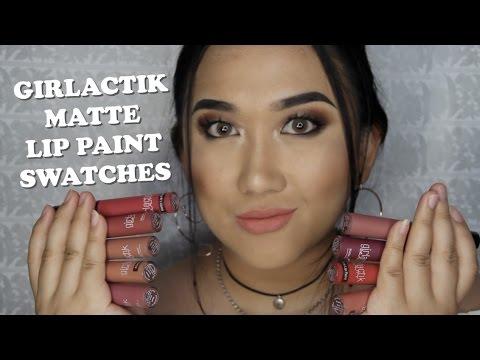 girlactick-matte-lip-paint-swatches-(9-shades)