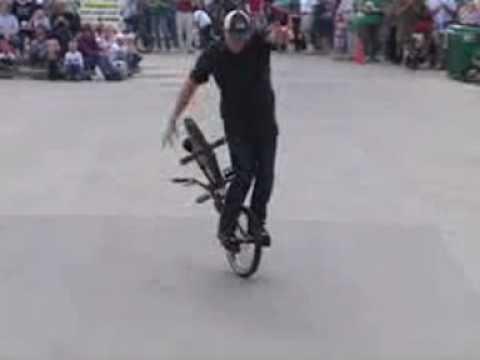 KING BMX Stunt Show at Washington Pavilion of Arts...