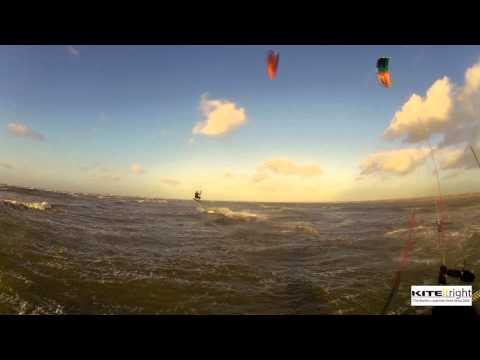 Ainsdale Kitesurfing in January 2015 complete mix