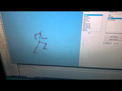 2D skeletal animation WIP