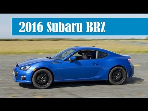 2016 Subaru BRZ, get new touchscreen and starting price at $26,190