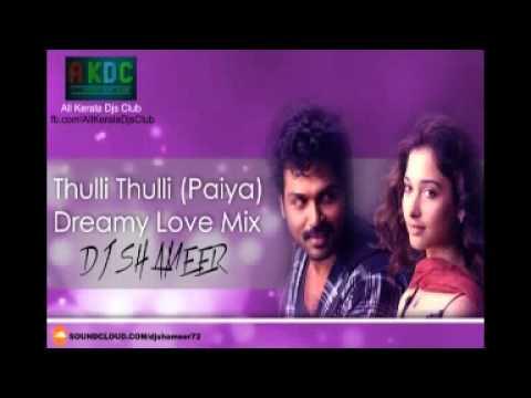 Thulli Thulli(Paiya)Love Dj Mix By Dj Shameer