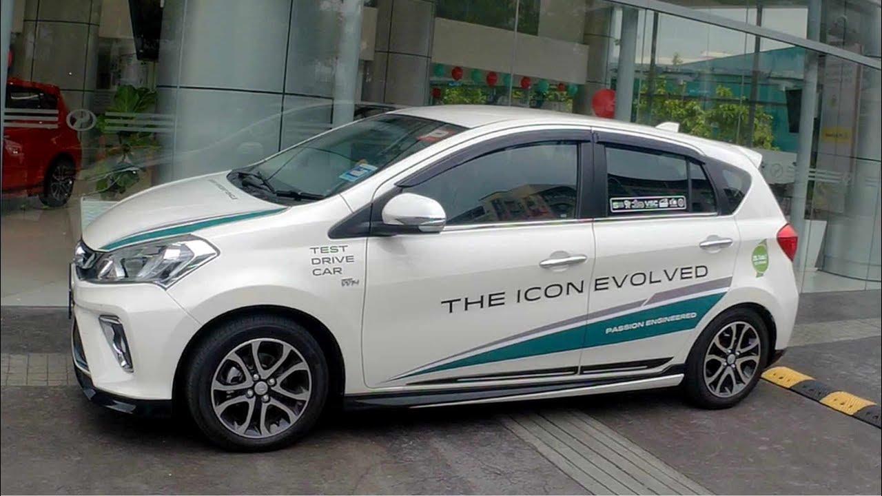 The New 2018 Perodua Myvi Interior Exterior Walk Around