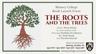 [Virtual] Book Launch — The Roots and the Trees by Nizar Sultan