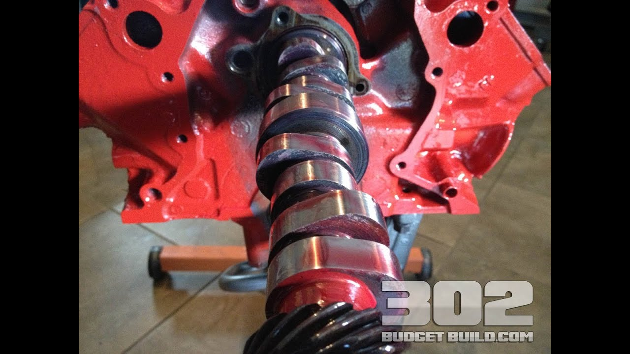small resolution of how to install a camshaft in a small block ford 302 5 0 e303 cam install youtube