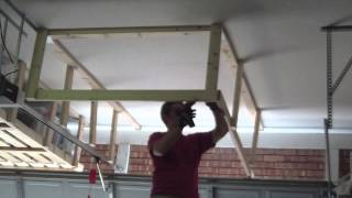 Garage Overhead Storage (timelapse)