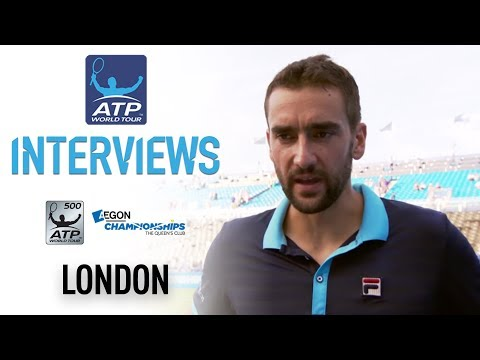 Post Match Interview With Cilic London Queens 2017