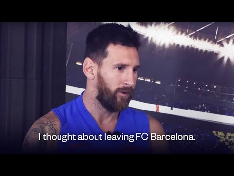 Lionel Messi CONFIRMS he wanted to leave FC Barcelona | Oh My Goal