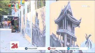 Ký ức Hà Nội trên những bức tường | VTV24