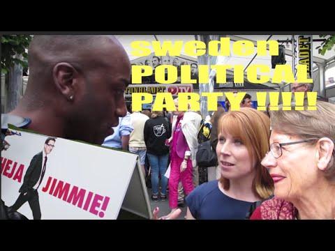 SWEDEN POLITICAL PARTY !!!!! (ALMEDALEN )