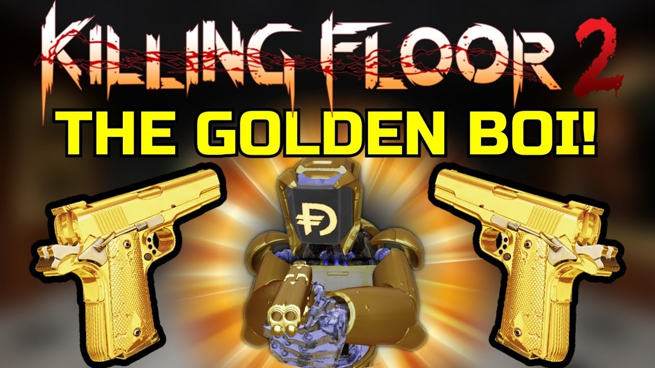 Af2011 A1 killing floor 2 | playing with the golden boi! precious/cheese d.a.r!  (af2011-a1 only)